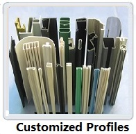 customer design PVC profiles